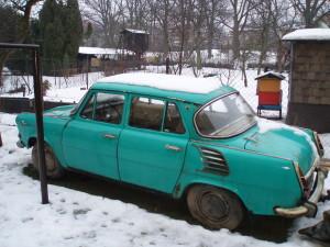 Rekonstrukce vozu Škoda 1000MB